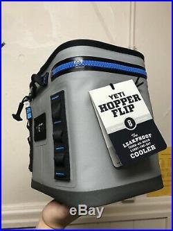 Yeti Hopper Flip 8 Portable Cooler Gray/Tahoe Blue