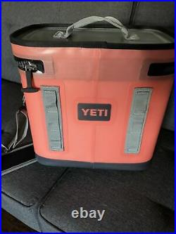 Yeti Hopper Flip Portable Cooler Coral BRAND NEW WOT