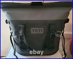 Yeti Hopper M30 Charcoal Cooler. Cooler Never Used withSholder Strap