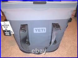 Yeti Hopper M30 Charcoal Soft Cooler. Brand New. Never Used