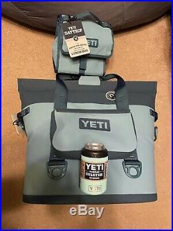 Yeti Hopper M30 Cooler Magnetic Seal Green Combo. DayTrip. Sidekick. Koozie. New