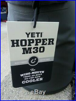 Yeti Hopper M30 Soft Cooler Gray