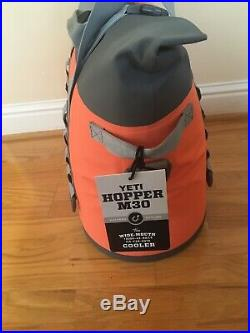 Yeti Hopper Soft Cooler M30- Coral NEW
