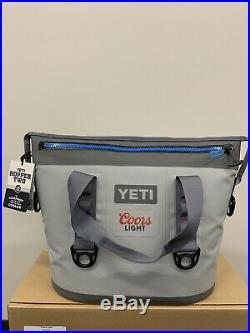 Yeti Hopper Two 20 Soft Cooler Gray (Coors Light Logo)