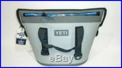 Yeti Hopper Two 30 Soft Cooler- Fog Gray/Tahoe Blue #18025140000