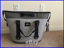 Yeti Hopper Two 30 Soft Side Cooler Fog Gray (Brand New)
