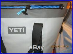 Yeti Hopper Two Rugged Soft-sided Leakproof Portable Cooler Fog Gray Tahoe Blue