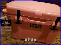 Yeti PINK Tundra 35 Cooler LIMITED EDITION NEW