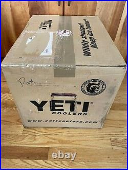 Yeti PINK Tundra 35 Cooler LIMITED EDITION NEW sealed box-2017 NOS Hard to find