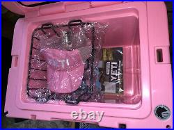 Yeti PINK Tundra 35 Cooler LIMITED EDITION NEW with Pink latch kit -2017 NOS