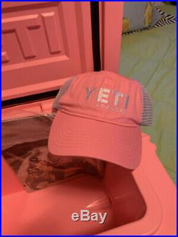 Yeti Pink Limited Edition Roadie 20 Cooler BRAND NEW With Hat
