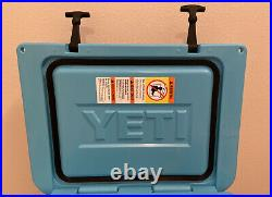 Yeti Reef Blue Tundra 35 Cooler Discontinued Color Limited Edition