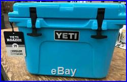 Yeti Roadie 20 20qt Cooler New Reef Blue RARE DISCONTINUED COLOR