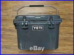 Yeti Roadie 20 Charcoal Limited Edition Cooler New Open Box