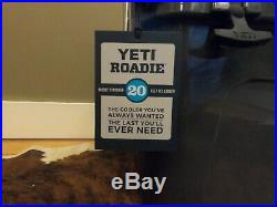 Yeti Roadie 20 Cooler In Charcoal Color Limited Edition Out Of Production