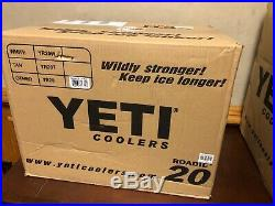 Yeti Roadie 20 Cooler LIMITED EDITION PINK BRAMD NEW IN BOX HAT INCLUDED