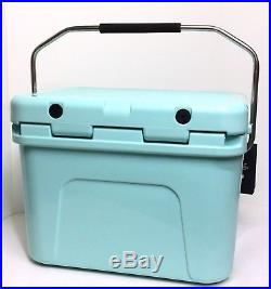 Yeti Roadie 20 Cooler Seafoam Green Limited Edition New Sold Out Color Display