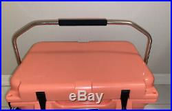 Yeti Roadie 20 Coral Limited Edition Cooler New Unregistered