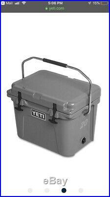 Yeti Roadie 20 Hard Cooler Charcoal Brand New RARE