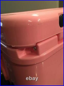 Yeti Roadie 20 Hard Cooler Pink Limited Edition Breast Cancer Awareness