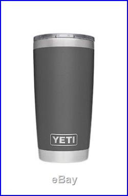 Yeti Roadie 20 QT Cooler in Charcoal with 20 tumbler Hat, 2 koozies