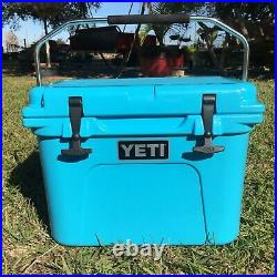 Yeti Roadie 20 Reef Blue Hard Cooler Limited Edition- Sold Out