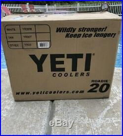 Yeti Roadie 20 YR20 Cooler Charcoal Gray Limited Edition Grey New in Box
