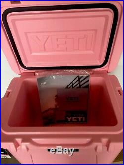 Yeti Roadie 20 Yeti PINK -Breast Cancer Limited Edition Cooler. Brand New Withtags
