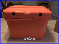 Yeti Roadie Limited Edition New Color Coral Cooler Brand New 20 Qt
