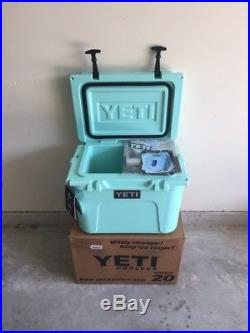Yeti Roadie Limited Edition Seafoam Green Cooler Brand New 20 Qt