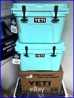 Yeti Seafoam 35 Tundra Cooler Brand New Limited Edition