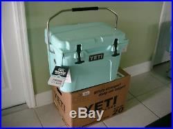 Yeti Seafoam Green Cooler Roadie 20 Quart Limited Edition Rare Discontinued