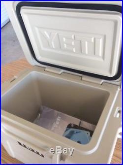 Yeti Tan 20 Roadie Cooler