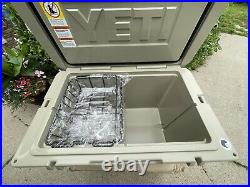 Yeti Tundra 105 Cooler Tan Used Store/event Display- Nothing Ever In Cooler Big