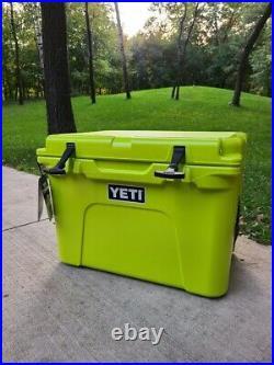 Yeti Tundra 35 Chartreuse Cooler