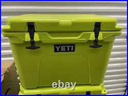 Yeti Tundra 35 Chartreuse Cooler NEW In Box RARE Discontinued -No Tag -Last One