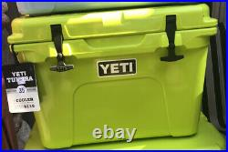 Yeti Tundra 35 Chartreuse Cooler NEW SEALED BOX RARE Discontinued hard to find