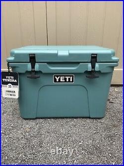 Yeti Tundra 35 Hard Cooler River Green New In Box Discontinued Rare