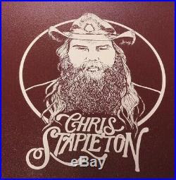 Yeti Tundra 35 Maroon Limited Edition Chris Stapleton Cooler Crimson Red Alabama