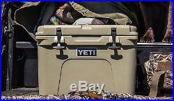 Yeti Tundra 35 Quart Tan Hard-Side Cooler Ice Chest YT35T AUCTION