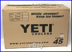 Yeti Tundra 45 Cooler High Country Limited Edition New Free Shipping