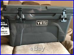 Yeti Tundra 45 Cooler Ice Chest Charcoal Grey