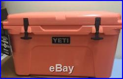 Yeti Tundra 45 Cooler Limited Coral Color NEW