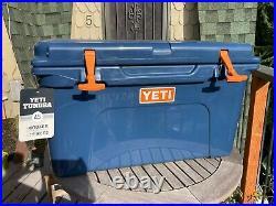 Yeti Tundra 45 Cooler Navy Blue & Orange