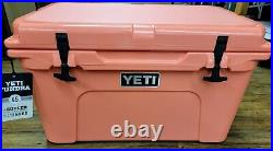 Yeti Tundra 45 Coral Cooler Limited Edition NEW