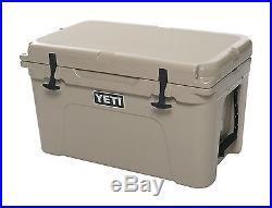 Yeti Tundra 45 Plastic Cooler 37.6 qt. Tan