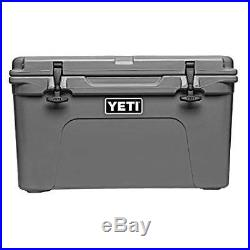 Yeti Tundra 45 QT Cooler Charcoal New In Box Free Shipping