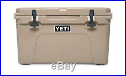 Yeti Tundra 45 Qt Cooler/Ice Chest TAN NEW- FREE SHIPPING