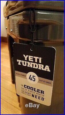 Yeti Tundra 45 Quart Cooler Charcoal LIMITED EDITION