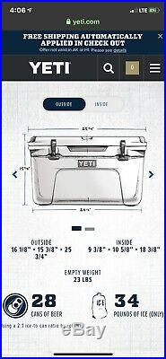Yeti Tundra 45 Quart Cooler Charcoal LIMITED EDITION AND VERY RARE